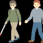 視覚障害の種類を知り、白杖を使って歩く人にもっと配慮を!